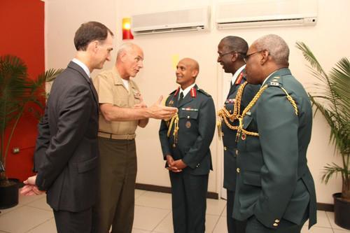 SOUTHCOM Commander Visits Trinidad and Tobago, Jamaica and Haiti