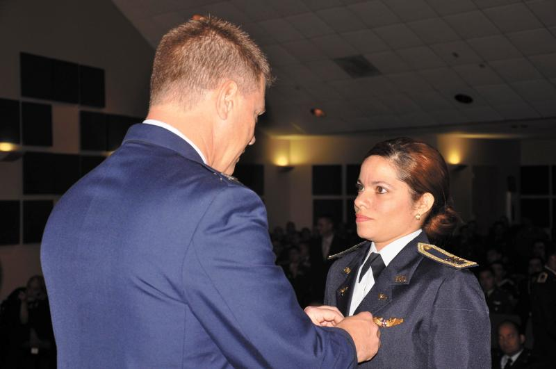IAAFA Hosts First Female Dominican Republic Combat Pilot
