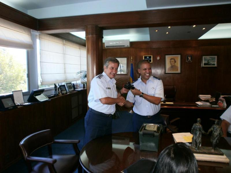 SOUTHCOM Provides Night Vision Goggles to Uruguayan Air Force