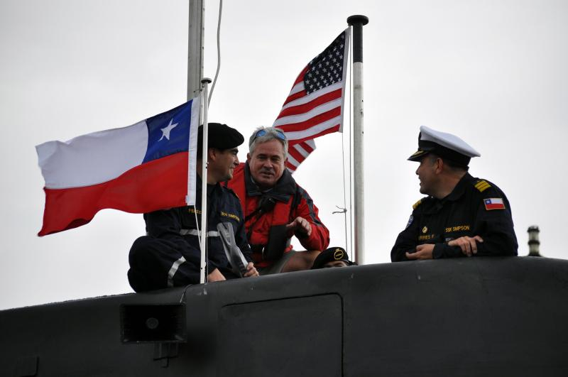 Chilean Submarine Completes Exercise with US Navy