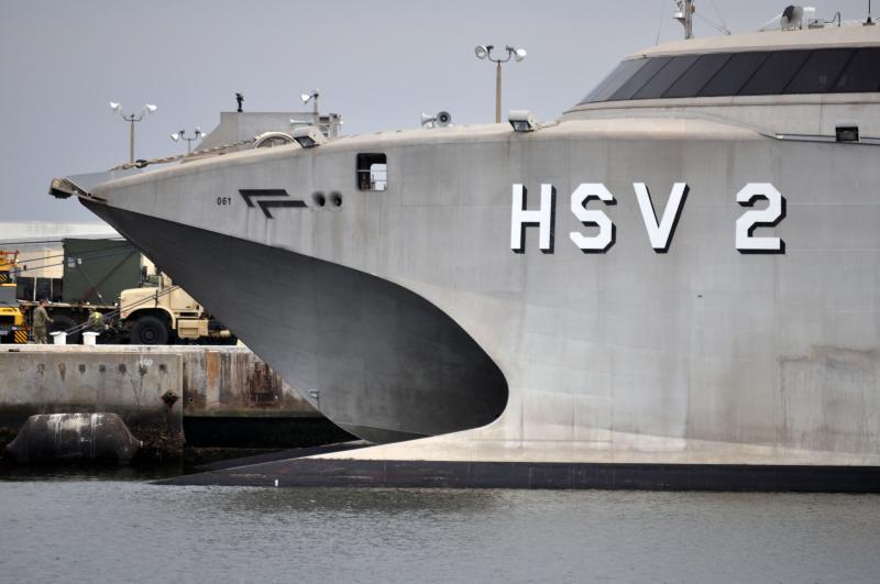 USNS Swift Departs to Belize, Guatemala, and Honduras