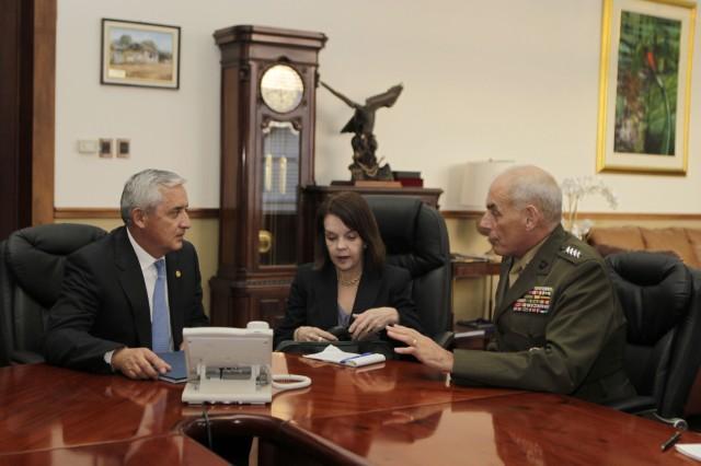 SOUTHCOM Commander Kelly Visits Panama and Guatemala