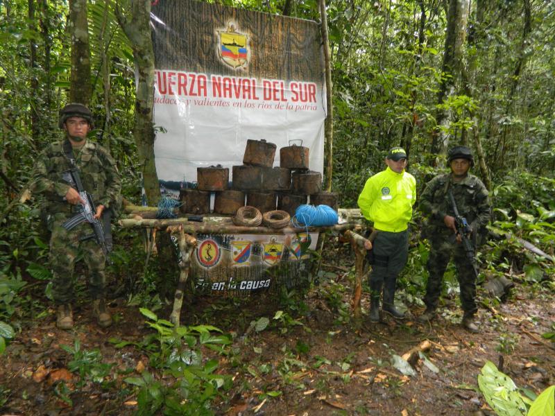 Colombian Navy Prevents Attack in Puerto Leguízamo