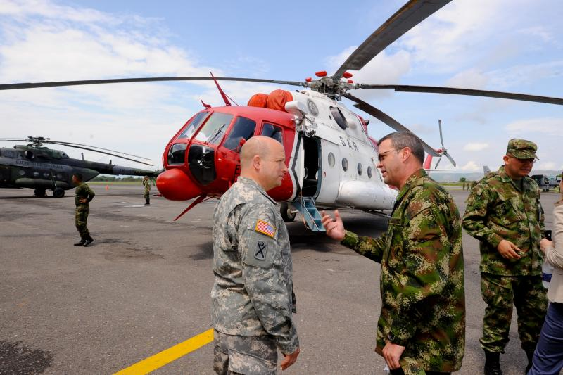 South Carolina National Guard Share Disaster Response Readiness with Colombians