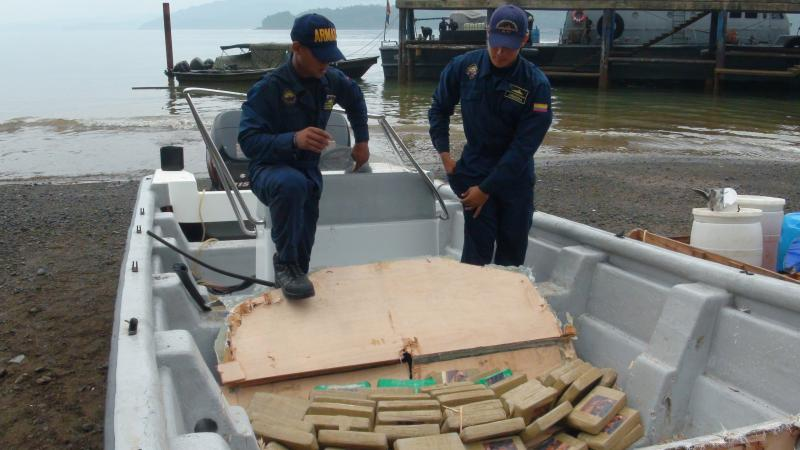 Colombian Navy Seizes over Half a Ton of Cocaine