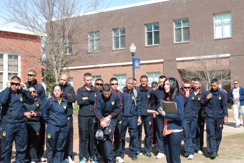 WHINSEC Cadets Visit Habitat for Humanity Global Village