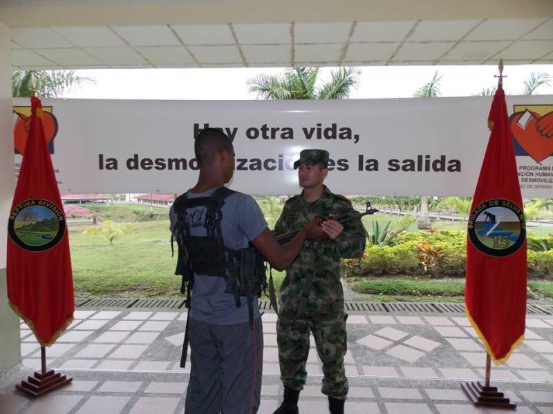 Seven FARC Guerrillas Surrender to Colombian Army