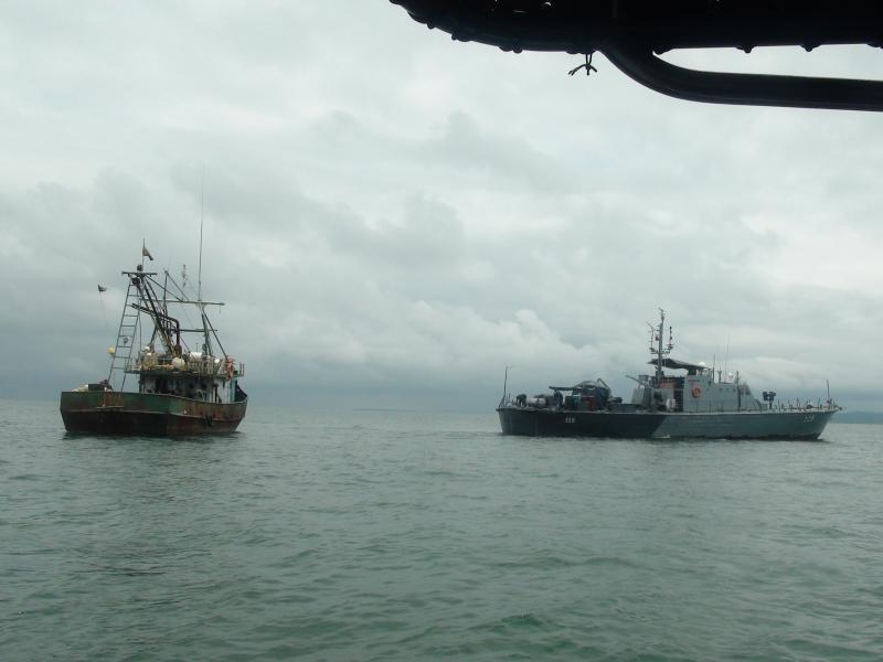 Colombian Navy Seizes Over a Ton of Cocaine in the Pacific
