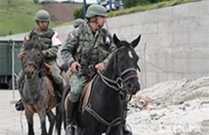 Ecuadorean Military Uses Mounted Patrol on Peruvian Border