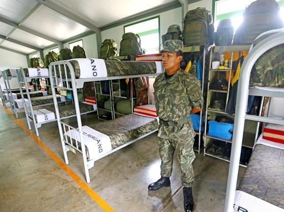 Peru Remodels Military Bases in the VRAEM