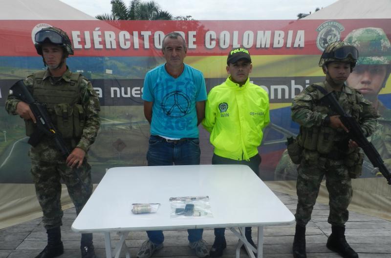 Army Captures FARC Leader