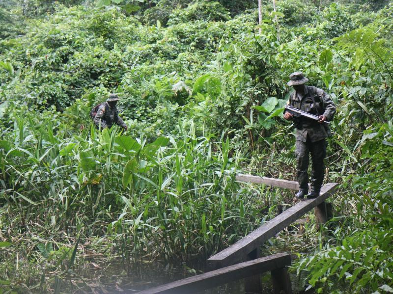 Ecuador Seizes Explosives from Guerrillas