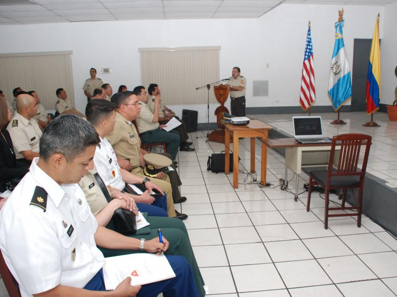 Colombia, Guatemala and U.S., Collaborate During Civil Affairs SMEE