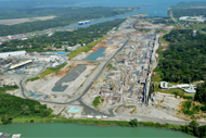 Panama Canal expansion moving full steam ahead