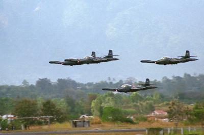 Salvadoran Air Force Opts for Chilean Cessna A-37 Fighters