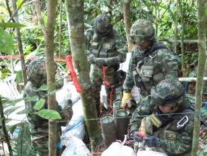Colombian Authorities Destroy 5,000 Antipersonnel Mines from FARC