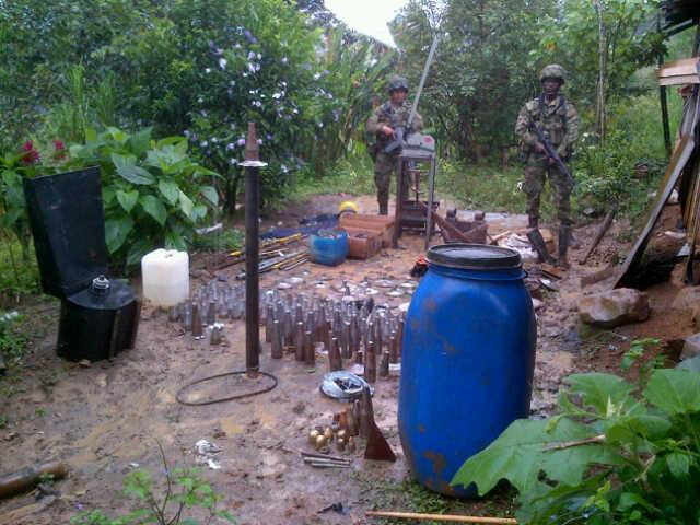 Demobilized FARC Member Reports a Factory that Produced Bombs