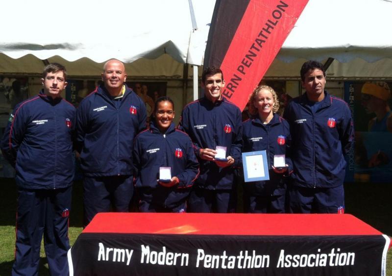 Brazilian Modern Pentathlon Team Champions in England