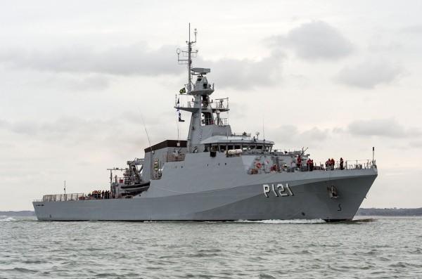 Brazilian Navy's Newest Patrol Vessel Arrives in Rio de Janeiro