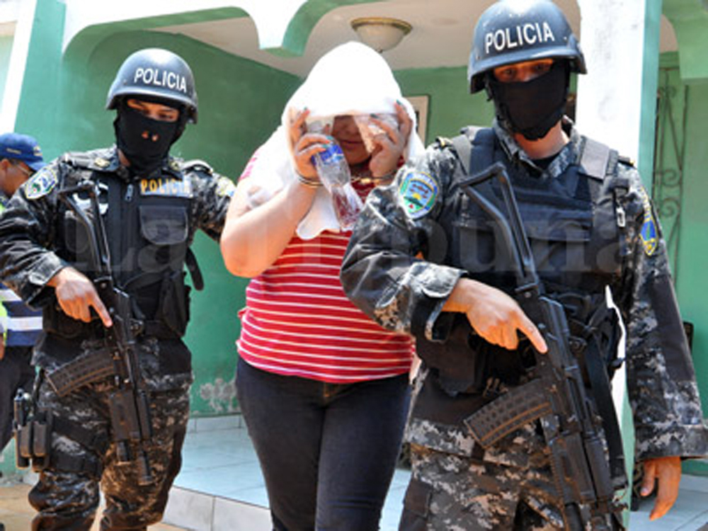 Police: Arms Seized in Honduras Were Destined for Mexico's Los Zetas