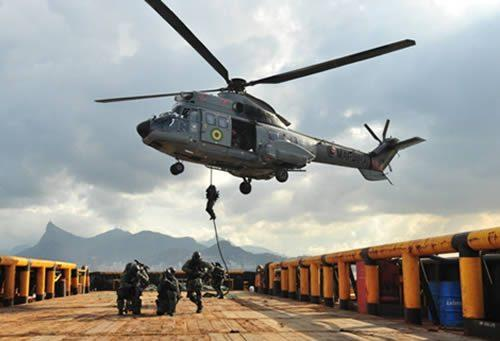 The Brazilian Navy's Role in the Confederations Cup