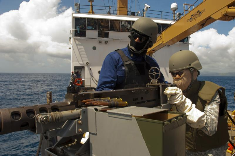 U.S. Military Strengthens Ties with Caribbean Nations During Live-Fire Exercise at Sea