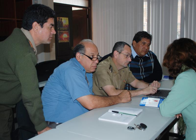 U.S. and Peruvian Military Discuss Information Operations in Lima