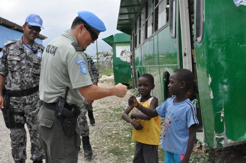 Constructing the Haitian National Police