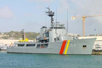 Colombian Navy Performs Combined Exercises with Costa Rica