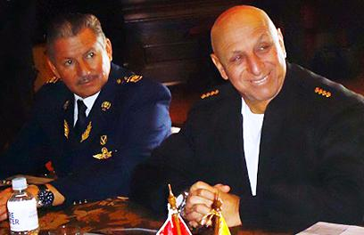 Ecuadorean and Peruvian Senior Military Command Reinforce Fight against Transnational Crime