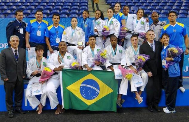 Brazilian Military Judo Team Shines at World Military Championship