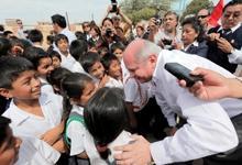 Peruvian Minister of Defense Inaugurates Social Inclusion Program