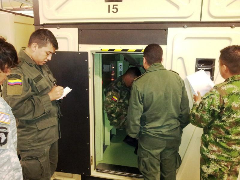 WHINSEC Students Get Their First Experience in a Close Combat Tactical Trainer