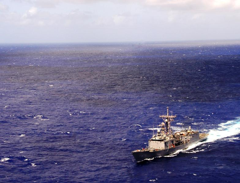 Navy Frigate to Deploy in Support of Operation Martillo