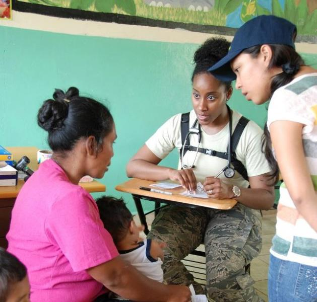 U.S. Troops Specializing in Engineering Provide Services to Communities in Panama