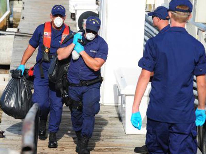 UAS assists U.S. Coast Guard's narcotics seizure for first time