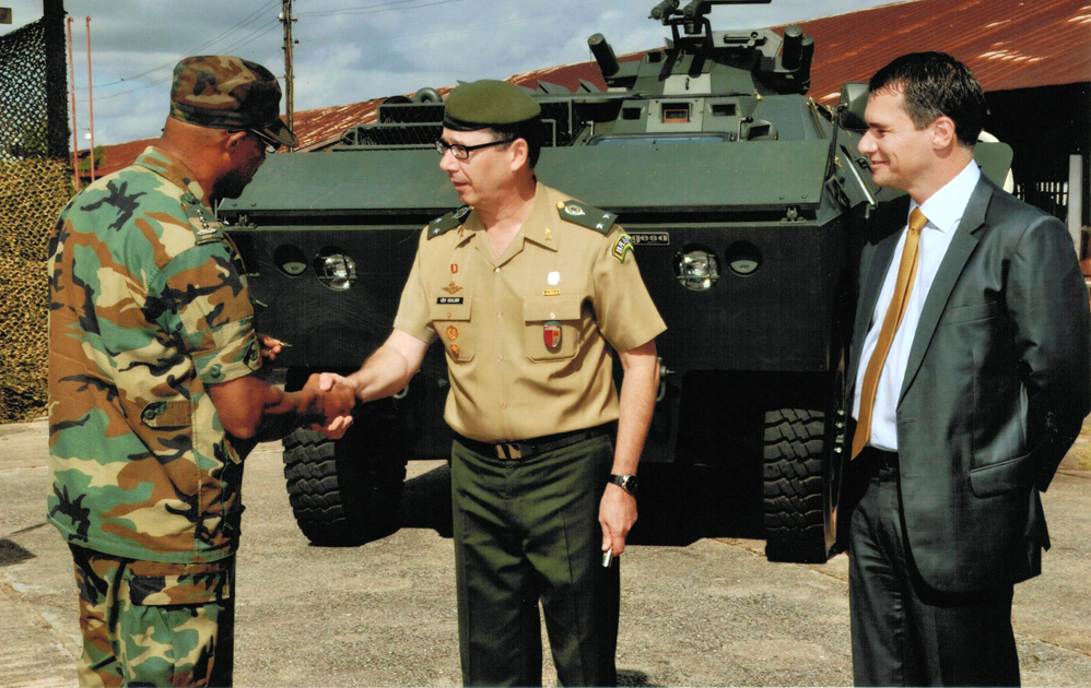 Suriname Intensifies Military, Security Cooperation With Neighboring Brazil
