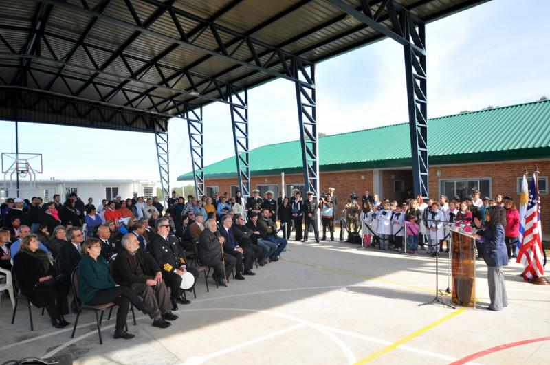 Uruguay Inaugurates Youth Center, SOUTHCOM Funds Help