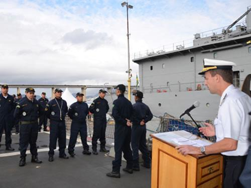 "Brazilian Frigate ""Rademaker"" Conducts UNITAS LIV Operation"