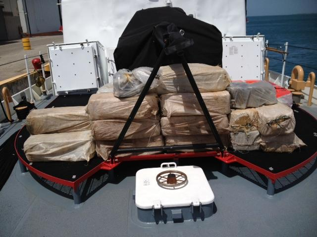 U.S., U.K. Seize More than $24 Million Worth of Cocaine in Caribbean
