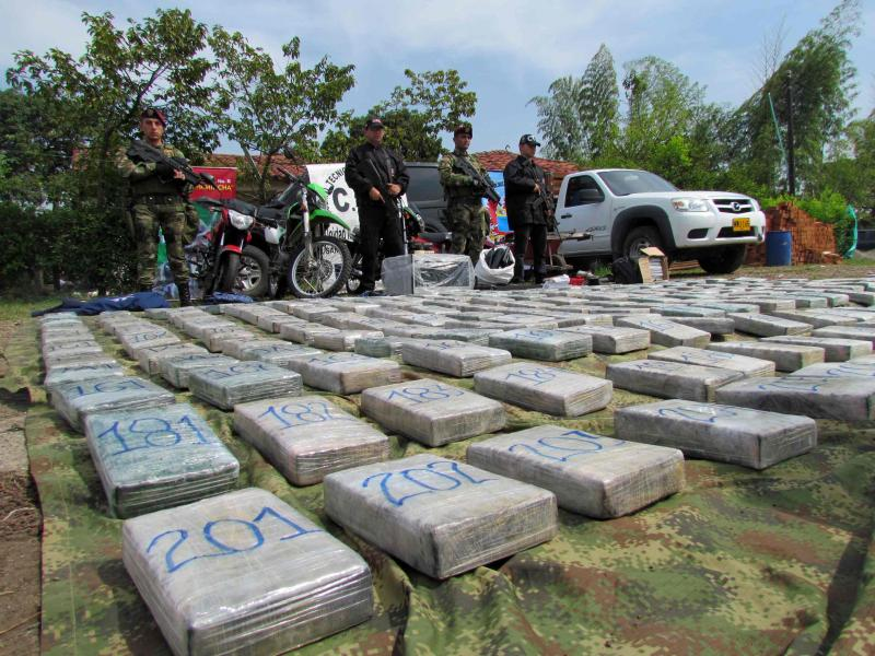 Colombia Seizes 226 Kilos of Cocaine from FARC