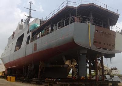 COTECMAR Launches Colombian Navy's OPV '7 de Agosto'