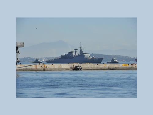 Brazilian Navy Frigate 'Constituição' Returns from Peacekeeping Mission in Lebanon
