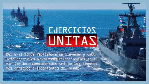 Operation Unitas' Vessels Take over the Colombian Caribbean