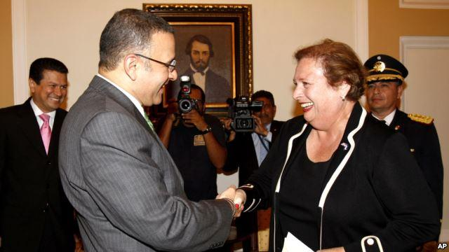 U.S. Ambassador in El Salvador Discusses Gangs