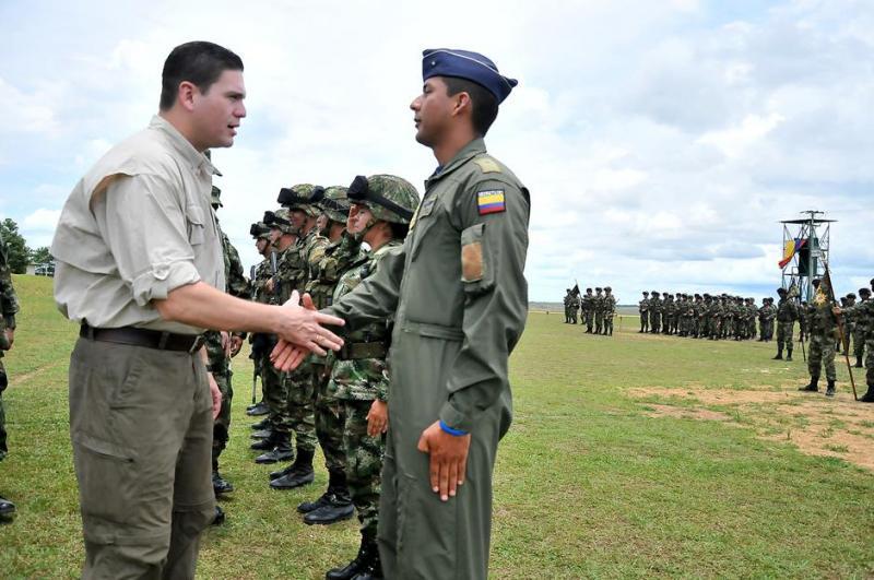 Colombian Town Celebrates Demobilization