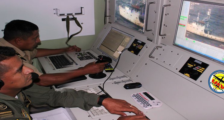 Ecuador's Navy uses technology to capture boat transporting cocaine