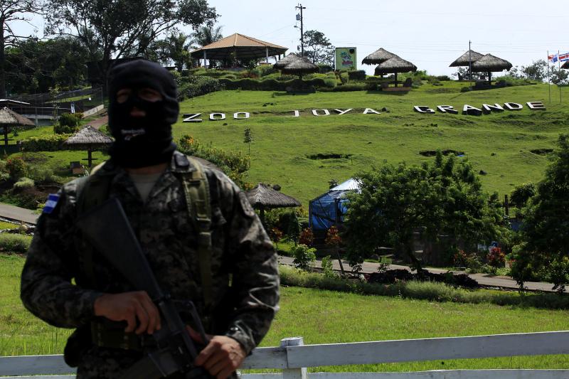 Honduras police seize Los Cachiros' Joya Grande Zoo