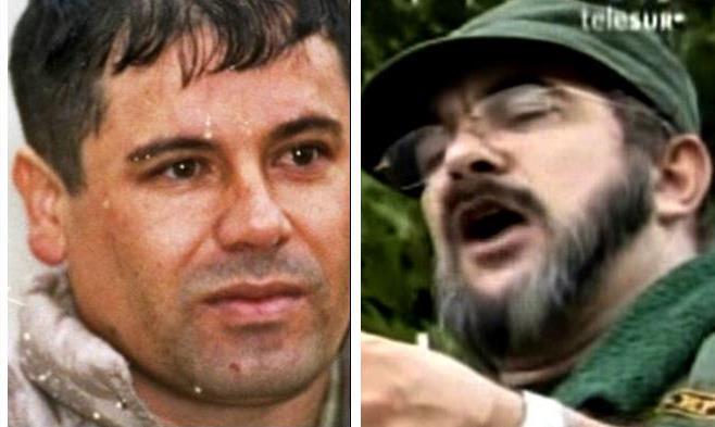 The FARC strengthens its ties with drug kingpin Joaquin 'El Chapo' Guzman