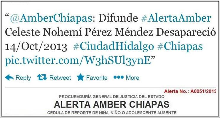 Latin American security forces uses Amber Alerts to locate kidnapped children